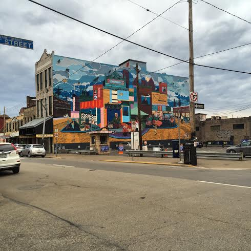 Flavor and history in the Strip District in Pittsburgh.
