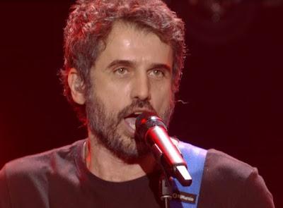 Eriberto Leão exaltou o rock! — Foto: Globo