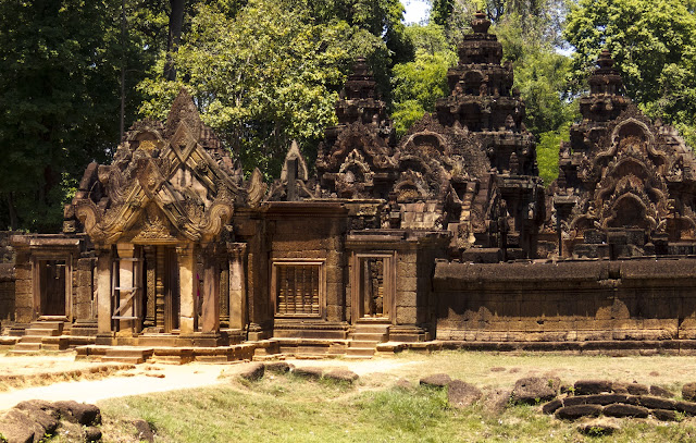 Banteay Srei temple in Angkor Cambodia