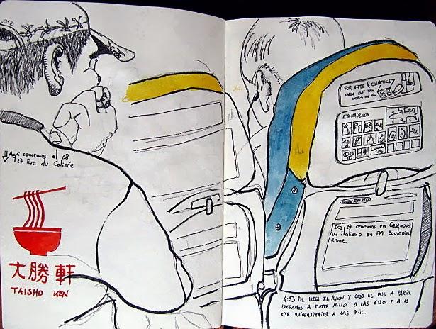 Concurso De Dibujo Urbano En Libreta Fnac Madrid: TAMO DE TINTA: Noviembre 2013
