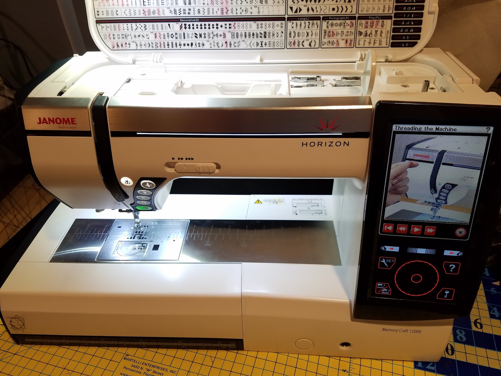 Janome memory craft 12000 - If You Would Like To Purchase This Machine Please Send A Private Email To