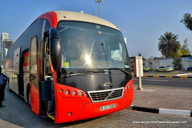 Dubai-Fujairah Intercity Bus