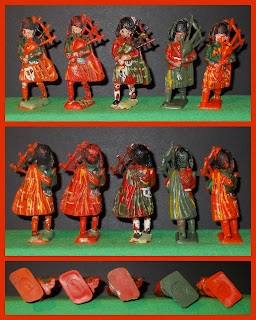 Black Watch; Gordon Highlanders; Highland Bandsmen; Highland Pipes & Drums; Highland Toy Figures; Highlanders; Hilco Highland Bandsmen; Hilco Highland Pipes & Drums; Hilco Plastic Figures; Hilco Plastic Highlanders; Pipes & Drums; Pipes And Drums; Royal Stewart; Scots Highlanders; Scots Soldier; Scots Soldiers; Scots Troops; Scottish Highlanders; Scottish Infantry; Small Scale World; smallscaleworld.blogspot.com;