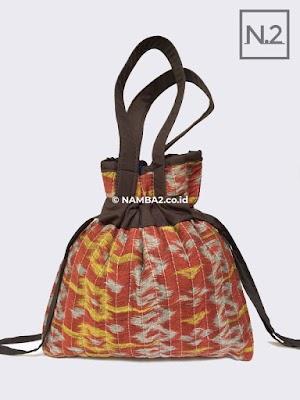 Tas Souvenir Batik Serut Mukena Pengajian