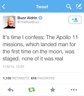バズ オルドリン アポロ計画 嘘 捏造 CIA アポロ11号