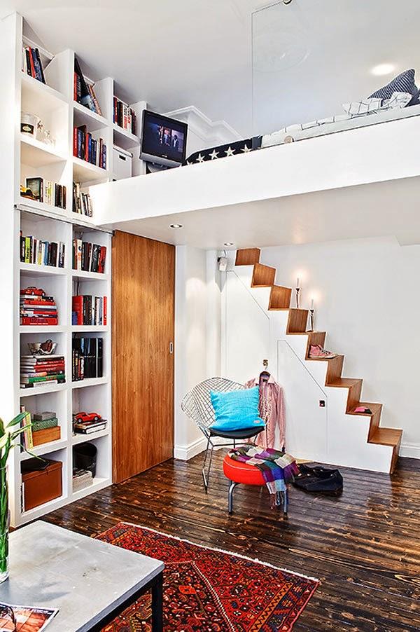 Quarto de apartamento de alto padrão interior decorator