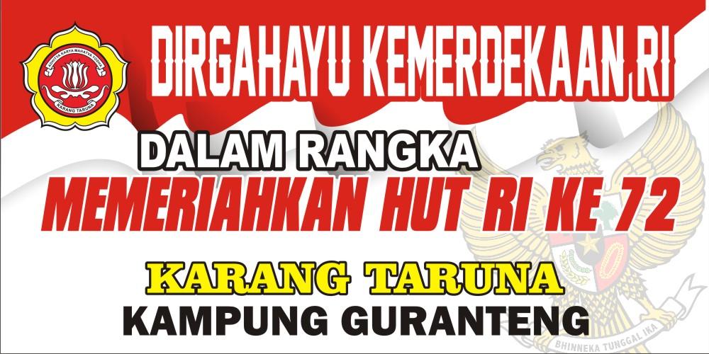 Contoh Spanduk Kemerdekaan Ri Ke 74 - desain banner kekinian