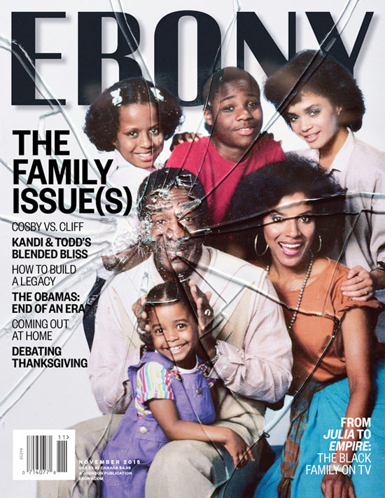 After allegations of sexual abuse against Bill cosby Ebony Magazine's decision to put the Cosby Show on the cover of their magazine sparks outrage in America!