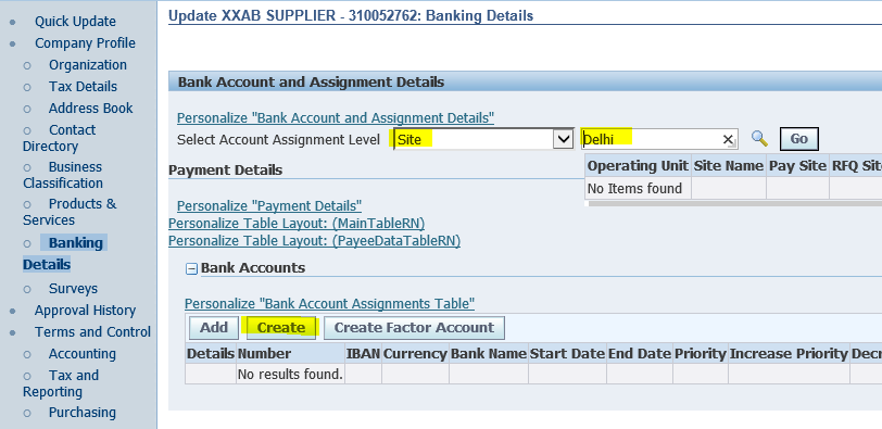 Oracle Application's Blog: Supplier bank details query in