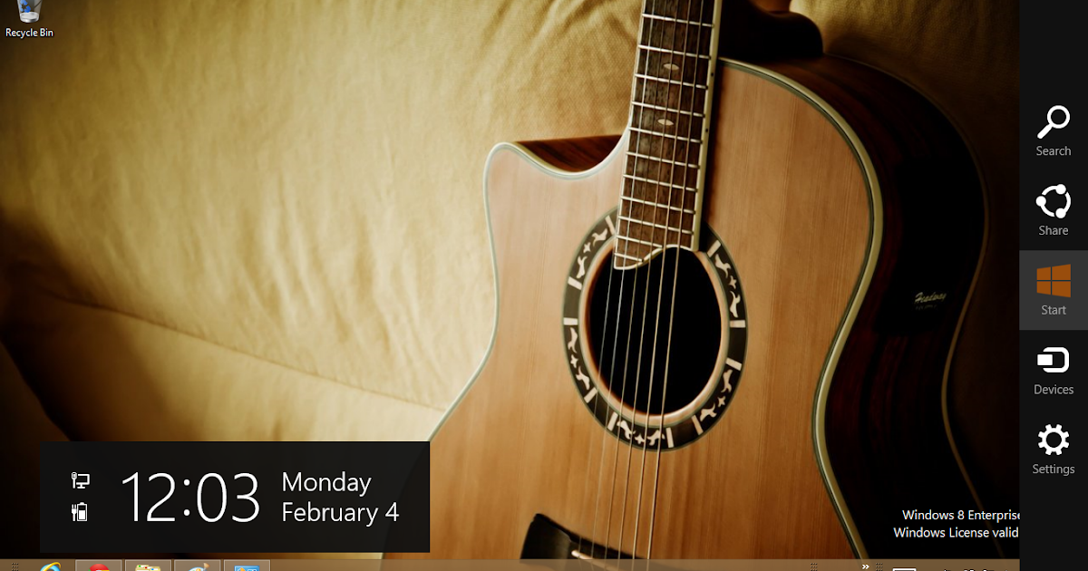 guitar windows 8 theme ouo themes. Black Bedroom Furniture Sets. Home Design Ideas