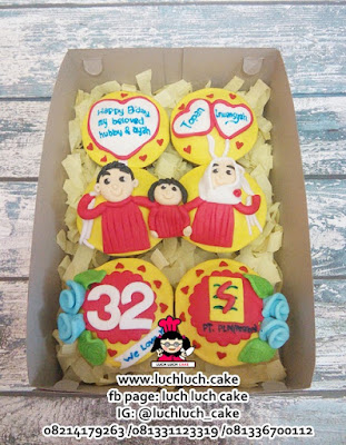 Cupcake Ulang Tahun Tema PLN