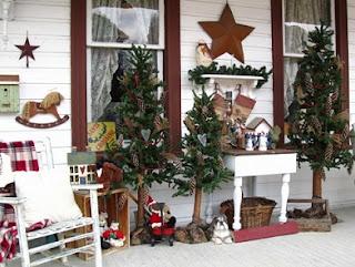 Fachada casa navidad