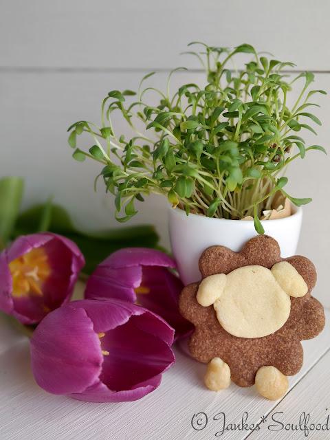 Geschenk aus der Küche - Osterplätzchen Schaf