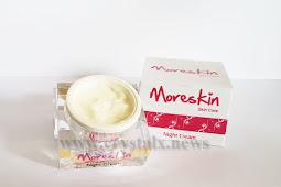 Moreskin Night Cream Cara Sempurna Meremajakan Kulit