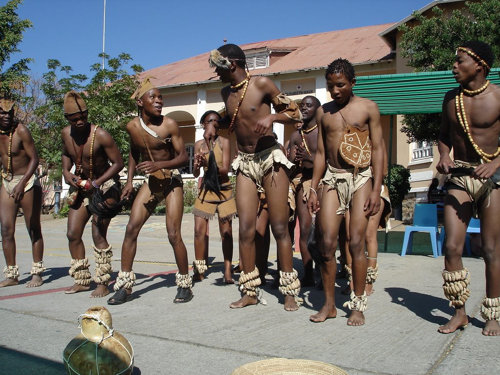 Botswana san people of