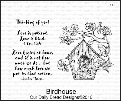 Our Daily Bread Designs Stamp Set: Birdhouse