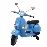 junior a003 vespa PX150 official licensed battery toy motorcycle