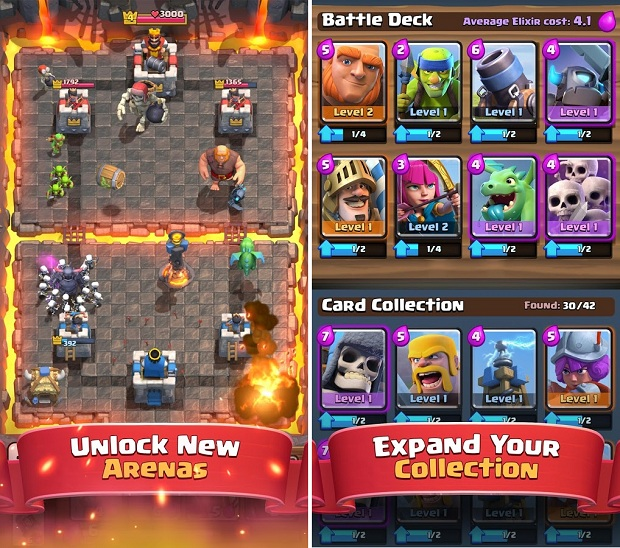clash royale download for android