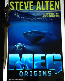 Portada del libro Meg: Origins, de Steve Alten