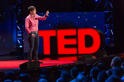 Danielle Feinberg on stage at TED Talks