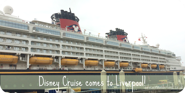 disney cruise ship in liverpool