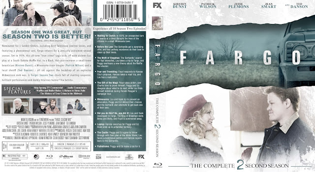 Fargo Season 2 Bluray Cover