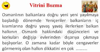 Vitrini Bozma - Asker Fıkraları - Komikler Burada