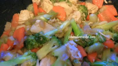 Resep Capcay Ayam Sederhana