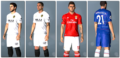 PES 2017 New Base Tattoopack for PTE Patch UnOfficial 6.5.3 (05.11.2018)