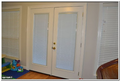 Single Patio Doors With Built In Blinds With Side Windows