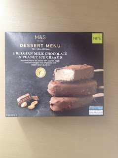 Marks & Spencer Milk Chocolate & Peanut Ice Creams