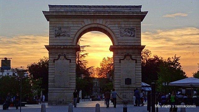 Porte de Guillaume, Dijon, Borgoña, Francia
