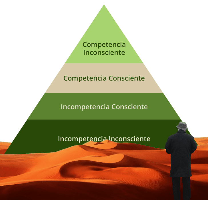 Pirámide de competencias