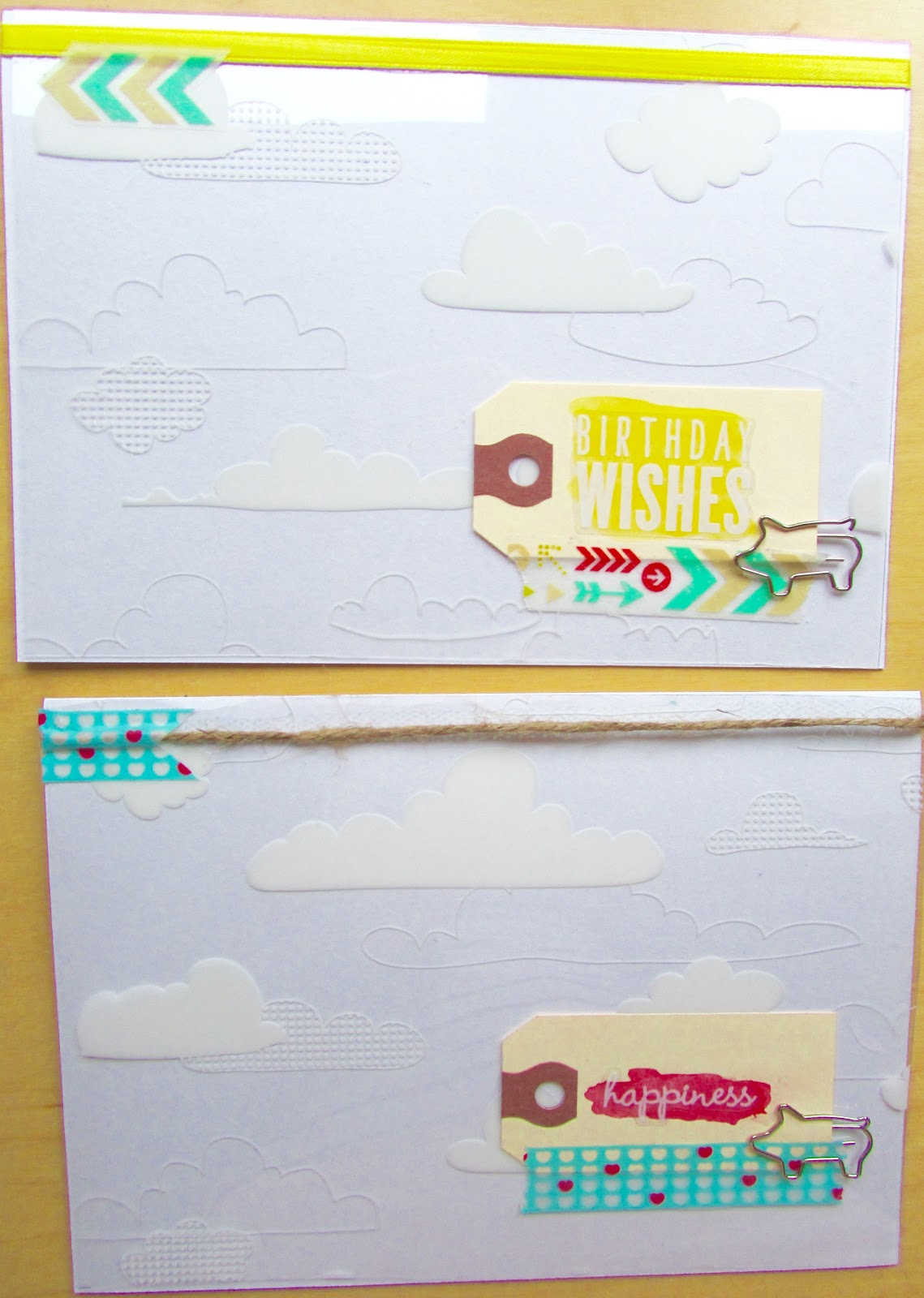 cute, layered DIY card