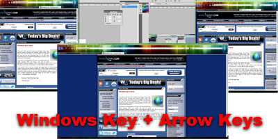 image of Win + Arrow Key