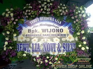 bunga papan ucapan banner digital printing