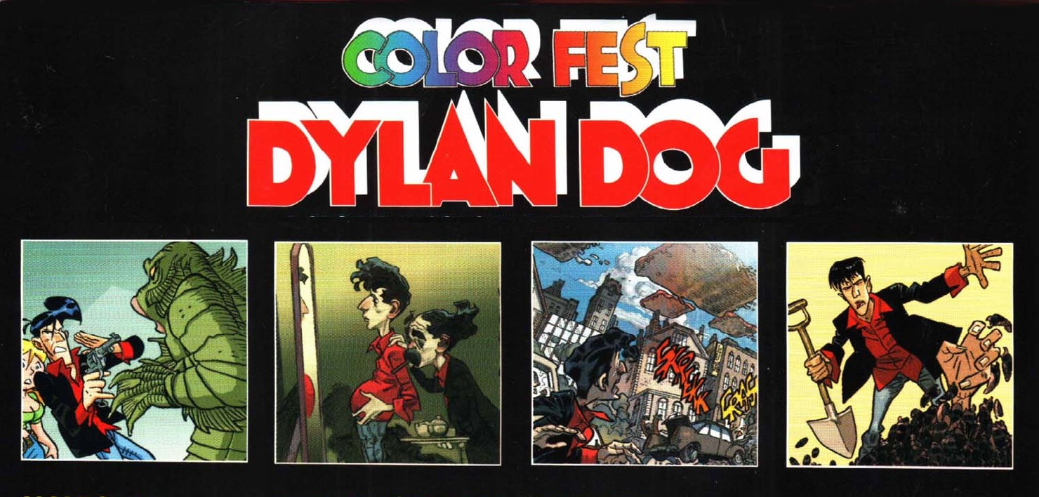 Dylan Dog color fest - Humor