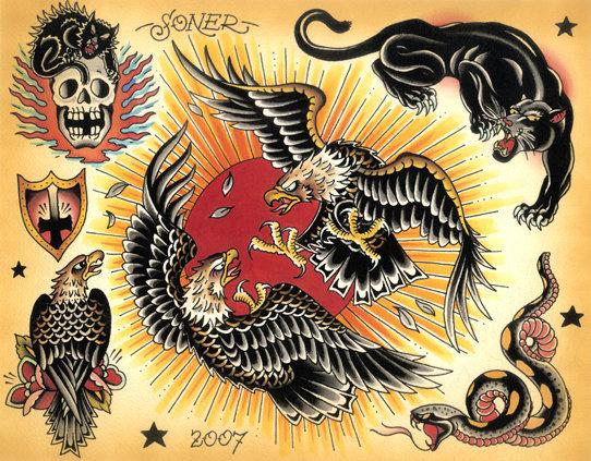 Disenos Estilo Neo Tradicional Belagoria La Web De Los Tatuajes