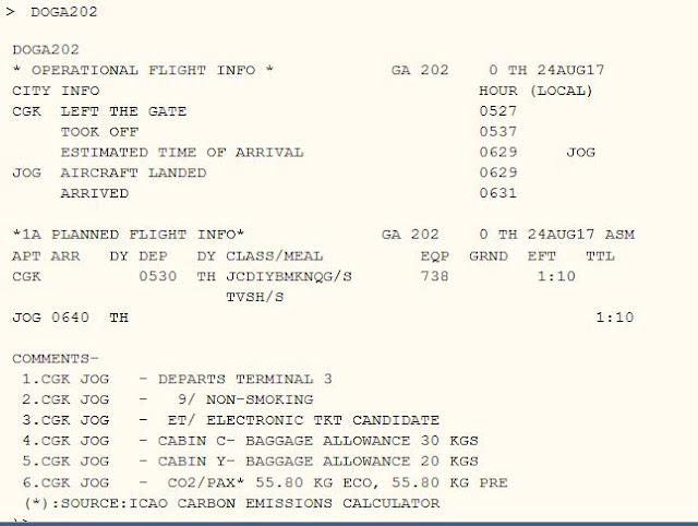 Cara Cek Detail Informasi Penerbangan di Altea Amadeus