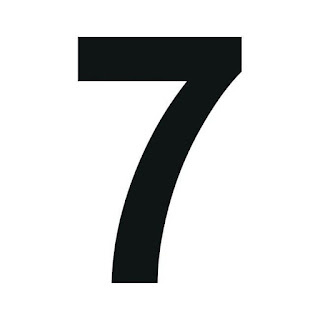 cyfra 7 do druku