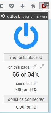 INTERESTING THINGS: uBlock Origin