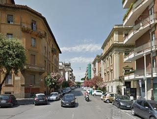 The Silvio D'Amico academy, where Volonté trained, is in Via Vincenzo Bellini in Rome's Municipio II district