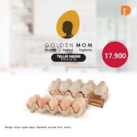 Dusdusan Golden Mom Telur Ayam Negri Isi 10 Butir ANDHIMIND