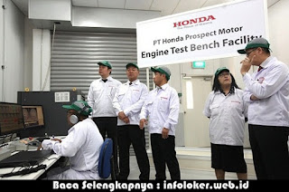 Lowongan Kerja PT Honda Prospect Motor (HPM) April 2019
