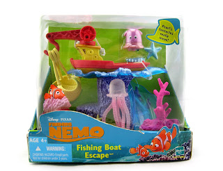 finding nemo fishing boat escape playset figures