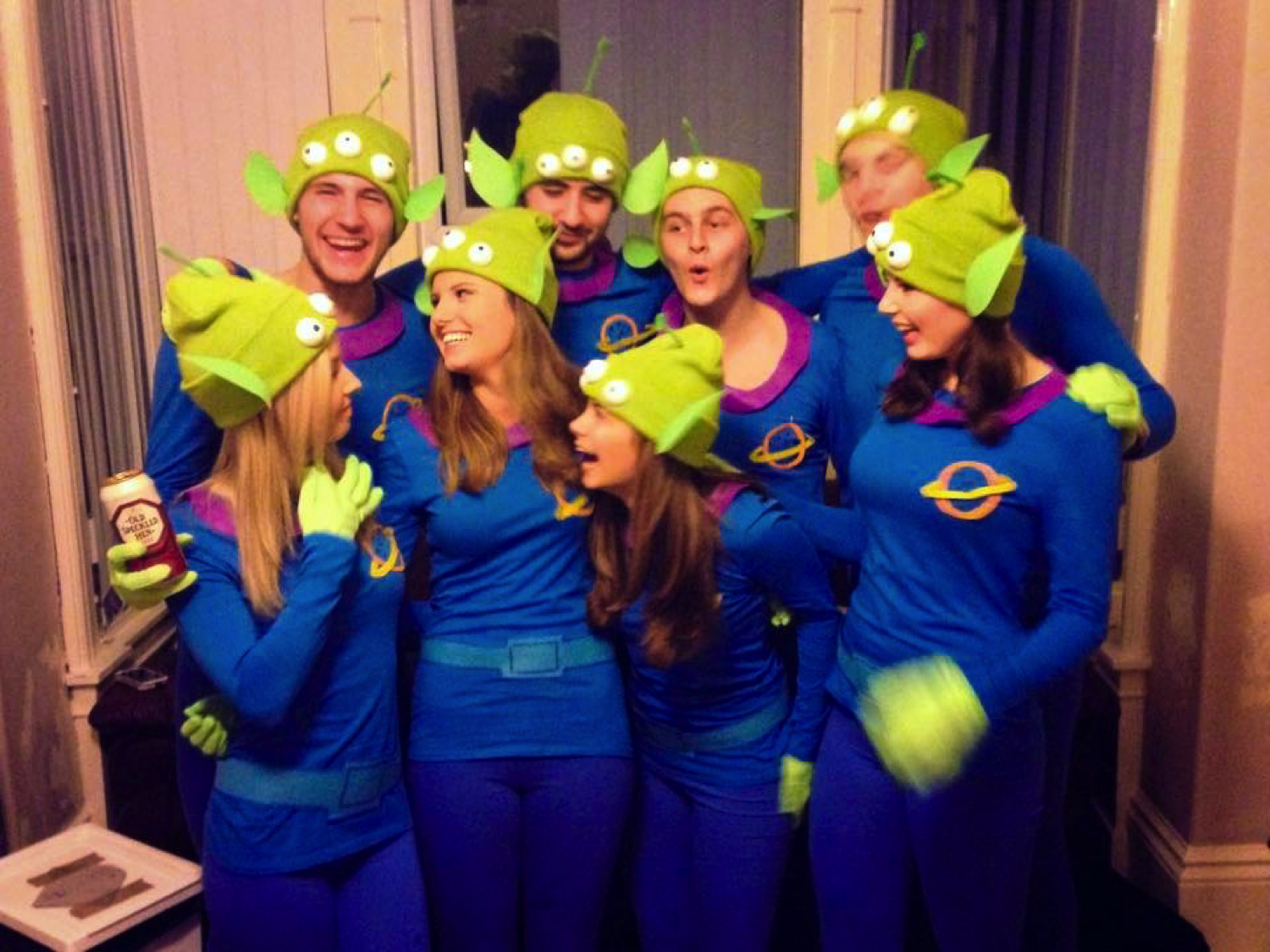Diy Homemade Toy Story Alien Costume Clothes And Stuff