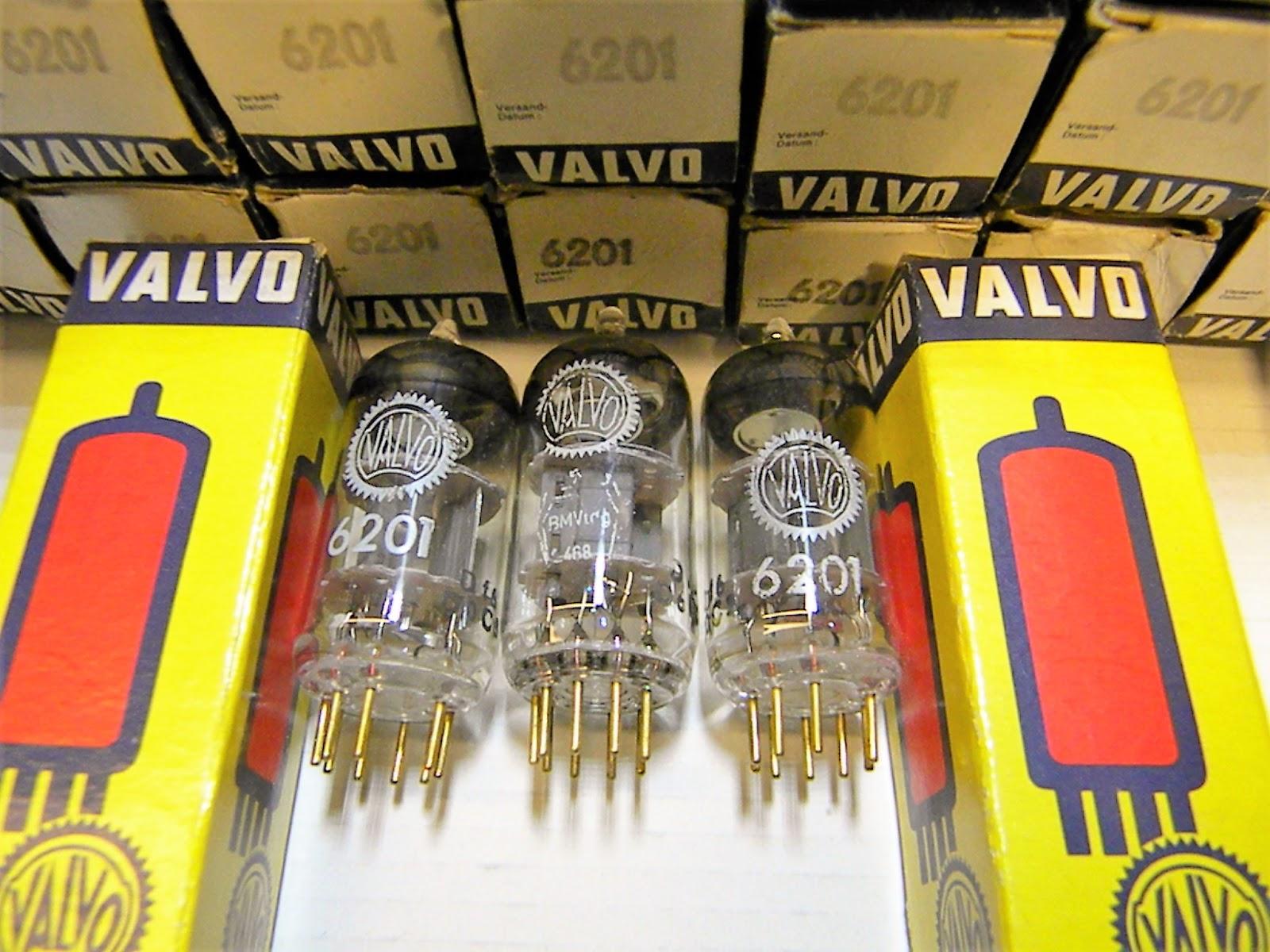 VALVO 6201 E81CC 12AT7WA Hamburg