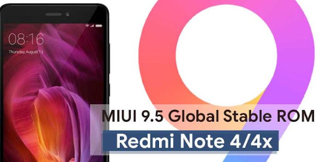 Cara Download dan Install MIUI 9.5.8.0 di Xiaomi Redmi Note 4/4x