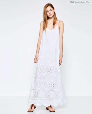 Vestidos largos blancos