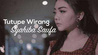 Lirik Lagu Tutupe Wirang - Syahiba Saufa